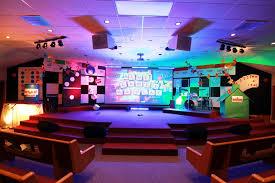 Church Lighting Design Ideas Gamed From Harvest Baptist Church In Verdigris Ok Church Stage