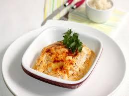 cuisiner poisson blanc recette poisson gratiné en sauce yaourt épicée cuisinez poisson