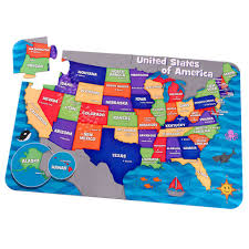 Nebraska Usa Map by Floor Puzzle U S A Map