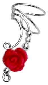 non pierced earrings ear cuff earrings non pierced in sterling silver