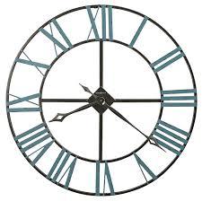 wall clocks wall clocks quartz wall clocks open skeleton wrought iron