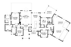 craftsman floorplans attractive craftsman ranch hwbdo76729 craftsman from