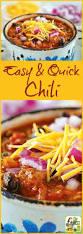 best 25 quick chili recipe ideas on pinterest easy chili recipe