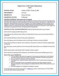 Call Center Supervisor Resume Sample by Skills Are Needed Of Course In Every Job But For Claim Adjuster