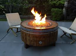 backyard patio ideas with fire pit lp gas fire pit dyi shop wine barrel fire pits sonoma