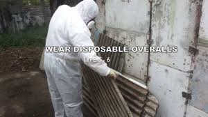 asbestos garage roof removal quick guide youtube