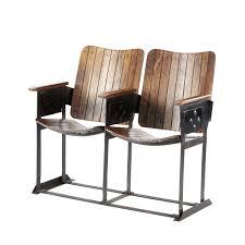 chaise industrielle maison du monde banquette de cinéaste maisons du monde la déco décodée