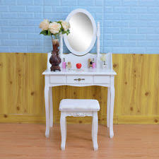 White Vanity Table With Drawers Ikea Hemnes Dressing Table With Mirror White 101 212 28 Ebay