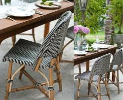 Navy Bistro Chairs Design Sleuth Classic French Rattan Bistro Chairs Rattan