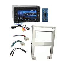 nissan altima 2005 double din planet audio car stereo double din dash kit harness for 2004 06