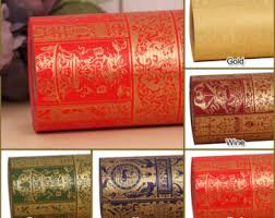 18m 1roll high quality wrapping paper sided printing