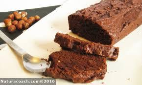 cuisine sans sucre recette bio cake chocolat noisettes sans gluten sans beurre et