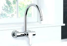 wall mounted kitchen faucets traditional wall mounted kitchen taps barber wall mount kitchen