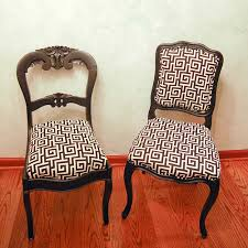 How To Upholster A Dining Chair Recovering Dining Room Chairs With Exemplary How To Reupholster A