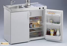 cuisine mini mini cuisine avec frigo et vitrocéramique mk100 blanche stengel