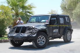 jeep wrangler pickup black spied 2018 wrangler soft top prototype u2013 extremeterrain com blog