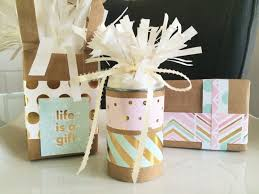 Handmade Gift Wrapping Paper - gift wrapping 2 4 diy inspired