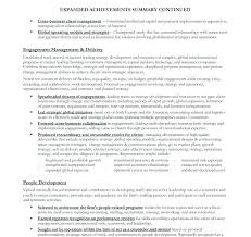 resume sample summary sample resume engineering management page 2