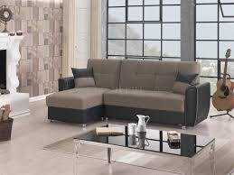 Sectional Sofas Maryland Maryland Sectional Sofa Convertible In Brown Fabric By Empire