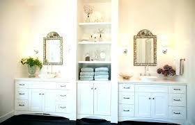 White Linen Cabinets For Bathroom Bathroom Towel Cabinet Ideas Built In Linen Cabinet Bathroom Linen