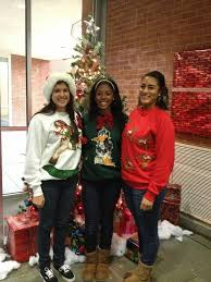 delaware state university softball ugly sweater party