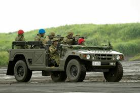 military land cruiser japan wanted its own hummer so toyota built the mega cruiser