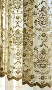 Lace Curtains Creative Ideas Lace Curtains Easy Style Carly Curtain Panel With