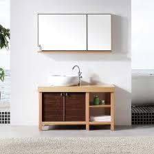 unfinished oak bathroom mirrors home