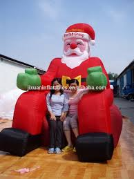 santa claus outdoor decorations big santa claus santa