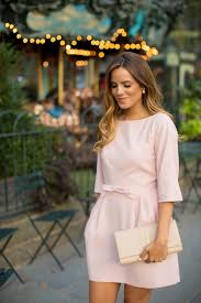 what to wear with a light pink dress light pink bow dress