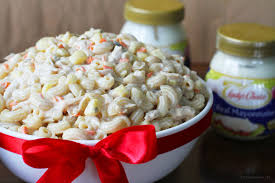 pasta salad with mayo lady u0027s choice macaroni salad recipe