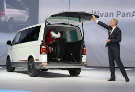 volkswagen multivan 2015 vw multivan panamericana concept for easy riders