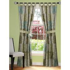 decorating mystique tailored paisley curtains for windows