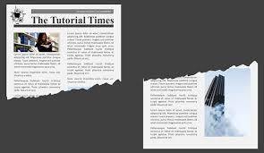 tutorial powerpoint design powerpoint tutorial for a torn paper effect powerpoint design