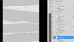 pattern newspaper photoshop a torn paper effect like eternal sunshine movie poster