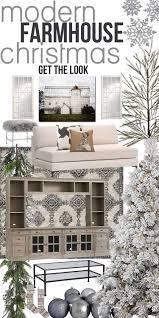 get the look modern farmhouse christmas decor ideas u2014 the mountain