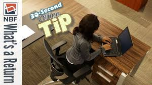 what is a desk return what is a desk return nbf 30 second office tip youtube