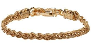 bracelet knots images Lyst emanuele bicocchi gold braided knots bracelet in metallic jpeg