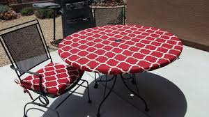 How To Make A Fitted Tablecloth For A Rectangular Table Round Fitted Tablecloth For Outdoor Dining With Umbrella Hole