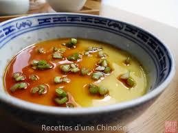 cuisine chinoise traditionnelle recettes d une chinoise oeuf à la vapeur 蒸蛋羹 zhēng dàngēng