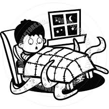 image result for under the bed monster drawing collab with nick
