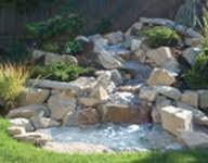 Waterfall In Backyard Water Features Backyard Waterfalls U0026 Garden Water Features