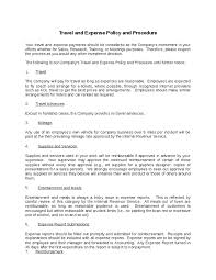 Travel And Expense Policy Sle by Expense Policy Sle 47 Images Outside Expense Insurance Sales