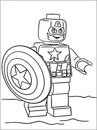 Coloriages Lego Superheros Affordable Marvel With Marvel Coloriage