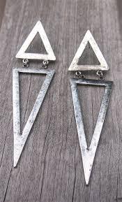 triangle earrings triangle drop dangle earrings earrings 50 trendy edgy