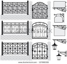 wrought iron stock images royalty free images vectors