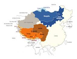 Tibetan Plateau Map 1 000 Years Of Tibetan Culture