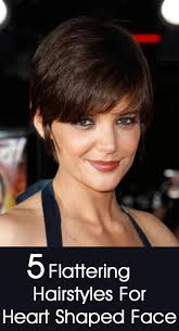short hairstyles for heart shaped faces 2 haircut pinterest