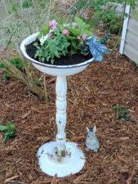 Upcycled Garden Decor Cute Idea Seeing That I Don U0027t Like The Color Of Mine Diy