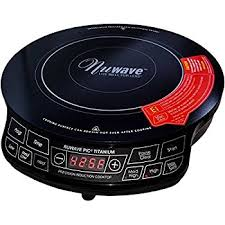 Electromagnetic Cooktop Amazon Com Nuwave Pic Pro Highest Powered Induction Cooktop 1800w
